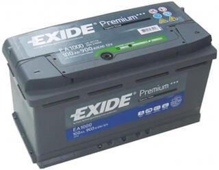 Автомобильный аккумулятор EXIDE PREMIUM EA1000