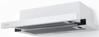 Вытяжка встраиваемая LEX HUBBLE 600 белый