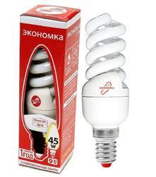 Лампа люминесцентная Экономка T2 SPC 9W E1442