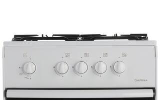 Газовая плита DARINA S4 GM 441 101 белый