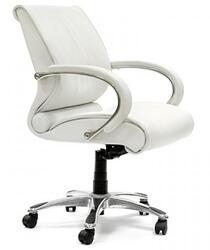 Кресло офисное Chairman 444 белый