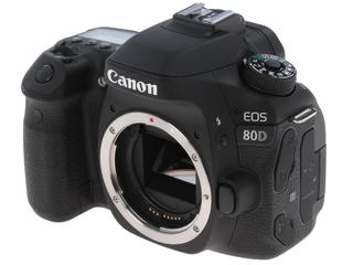Зеркальная камера Canon EOS 80D Body черный