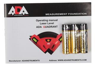 Лазерный нивелир ADA Quadrant