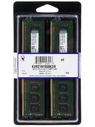 Оперативная память Kingston ValueRAM [KVR21N15S8K2/8G] 8 Гб