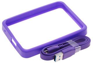 Чехол для внешнего HDD WD Grip Pack фиолетовый
