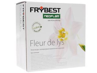 Кастрюля Frybest FDL-C20 Fleur de Lys белый