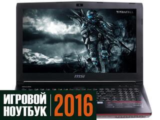 """15.6"""" Ноутбук MSI GE62 6QE Apache Pro 6QE-463XRU черный"""