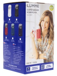 Кофемолка Lumme LU-2601 красный