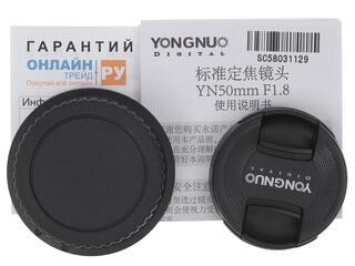 Объектив YongNuo AF 50mm F1.8