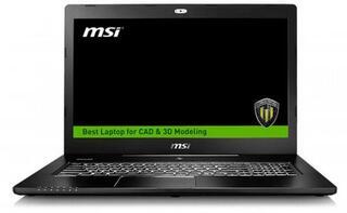 """17.3"""" Ноутбук MSI WS72 6QI-201RU черный"""