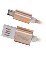 Кабель Cablexpert USB - micro USB золотистый