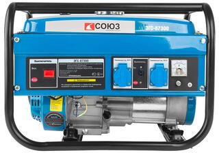 Бензиновый электрогенератор СОЮЗ ЭГС-87300