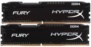 Оперативная память Kingston HyperX FURY [HX424C15FBK2/8] 8 ГБ
