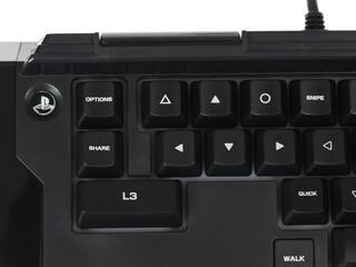 Клавиатура + мышь Hori T.A.C.4 черный