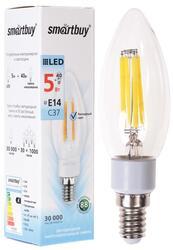 Лампа светодиодная Smartbuy C37 Filament