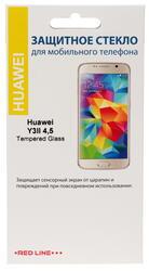 "4.5"" Защитное стекло для смартфона Huawei Y3II"