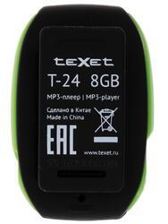 MP3 плеер teXet T-24 зеленый