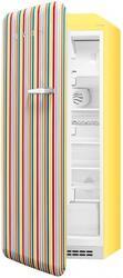 Холодильник с морозильником Премиум Smeg FAB28LCS1 желтый