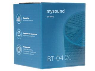 Портативная колонка Rombica MySound BT-04 2C синий