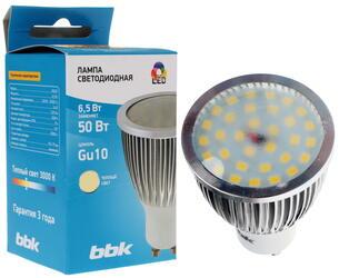 Лампа светодиодная BBK P653F Gu10