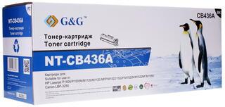 Картридж лазерный G&G NT-CB436A