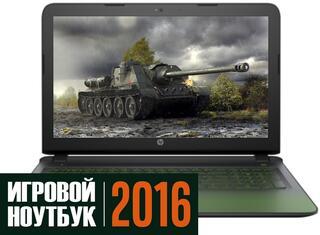 "15.6"" Ноутбук HP Pavilion Gaming 15-ak001ur черный"