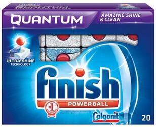 Таблетки для посудомоечных машин Finish Quantum 20шт.