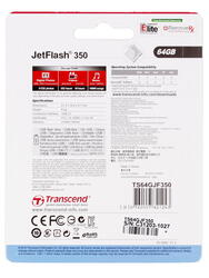 Память USB Flash JetFlash 350 64 Гб