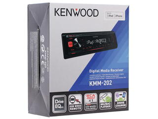 Автопроигрыватель Kenwood KMM-202