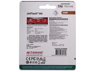 Память USB Flash Transcend JetFlash 590K 32 Гб