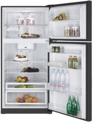 Холодильник с морозильником Daewoo FN-T650NPB черный