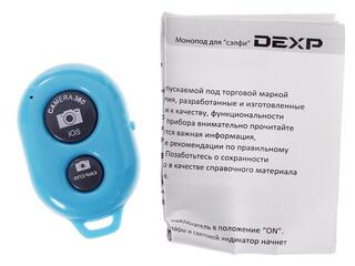 Монопод для селфи DEXP MSBB-300Bl голубой