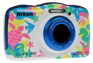 Компактная камера Nikon Coolpix W100 многоцветный