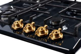 Газовая варочная поверхность Kuppersberg FV6TGRZ ANT Bronze