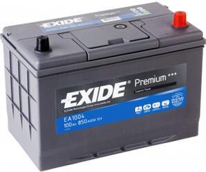 Автомобильный аккумулятор EXIDE PREMIUM EA1004