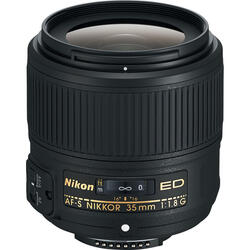 Объектив Nikon AF-S 35mm F1.8 G ED Nikkor