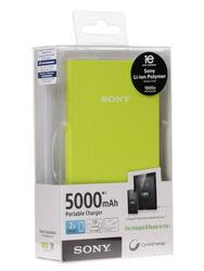 Портативный аккумулятор Sony CP-V5l зеленый