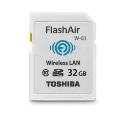 Карта памяти Toshiba FlashAir W-03 SDHC 32 Гб