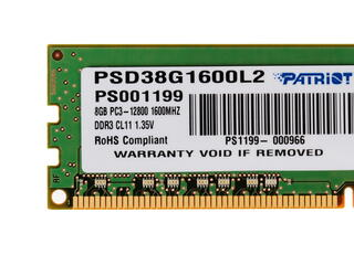 Оперативная память Patriot Signature [PSD38G1600L2] 8 Гб
