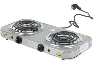 Плитка электрическая Lumme LU-3607 серебристый