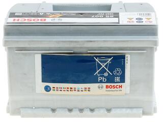 Автомобильный аккумулятор Bosch S5 007