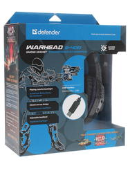 Наушники Defender Warhead G-400