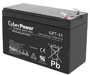 Аккумуляторная батарея для ИБП CyberPower 12V 7Ah