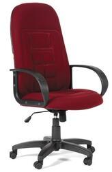 Кресло офисное Chairman 727 бордовый