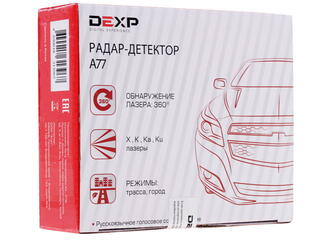 Радар-детектор DEXP A77