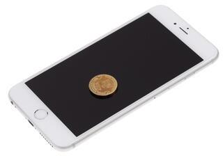 """5.5"""" Смартфон Apple iPhone 6S Plus 64 ГБ серебристый"""