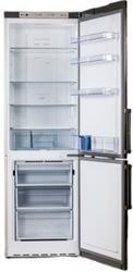 Холодильник с морозильником Sharp SJ-B336ZR-SL серебристый