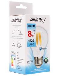 Лампа светодиодная Smartbuy SBL-A60F-8-40K-E27