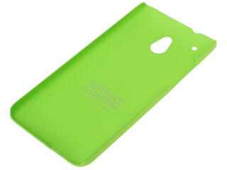 Накладка + защитная пленка  Deppa для смартфона HTC One mini