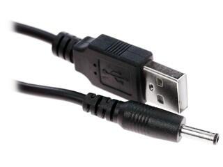 Кабель DEXP H010-DC35MUMSIB USB - DC jack 3.5 мм черный